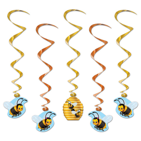 Bumblebee Whirls, Size 3' 4""