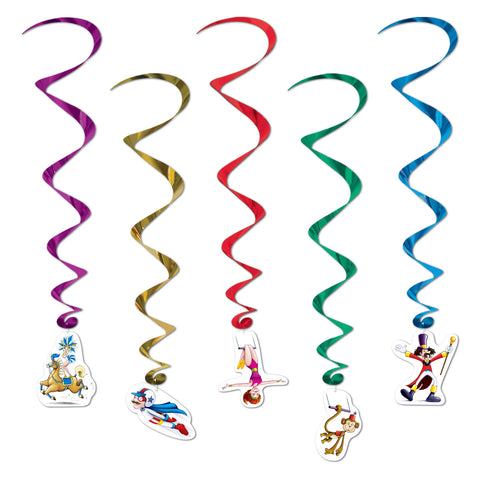 Circus Whirls, Size 35""