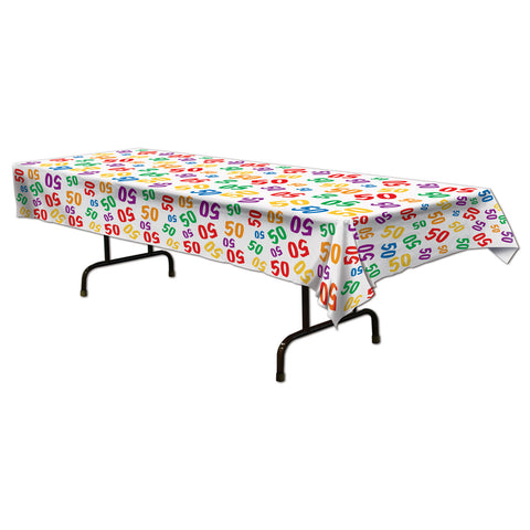 "50  Tablecover, Size 54"" x 108"""