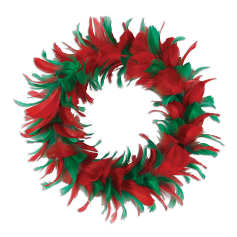 Feather Wreath, Size 12""