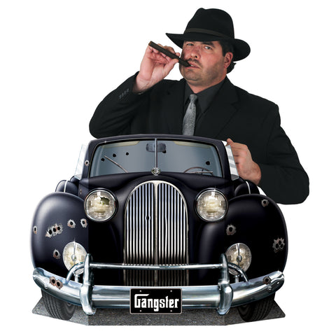 "Gangster Car Photo Prop, Size 3' ¾"" x 24½"""