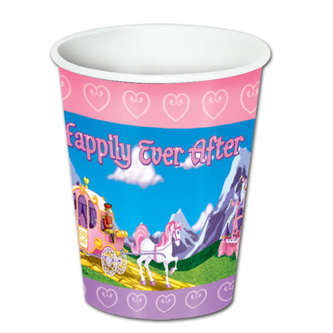 Princess Beverage Cups, Size 8 Oz