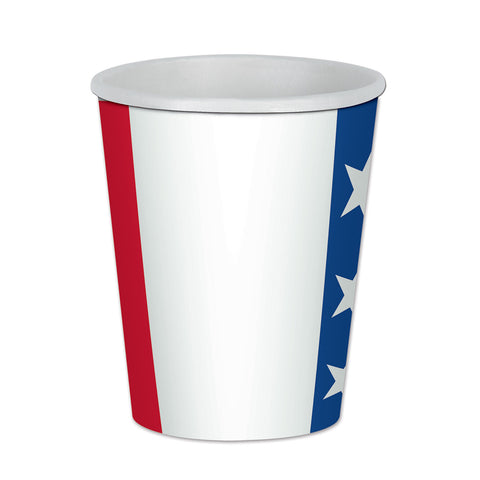 Patriotic Beverage Cups, Size 9 Oz