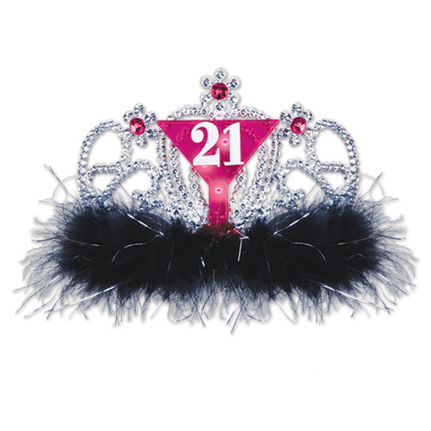 Plastic Light-Up  21  Tiara