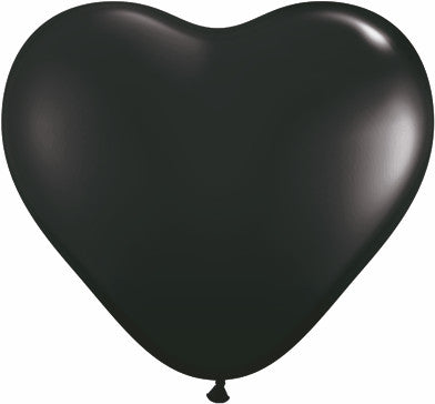 "06"" Corazon Negro Onix, Latex Solido"