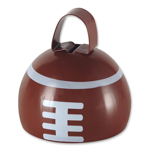 Football Cowbell, Size 3¼""