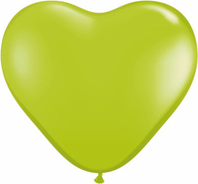 "06"" Corazon, Verde Lima, Latex Solido"