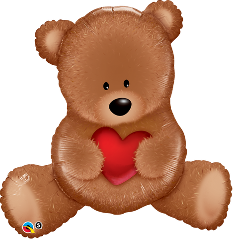 "35"" Oso Gigante, Teddy, Corazon, Love"