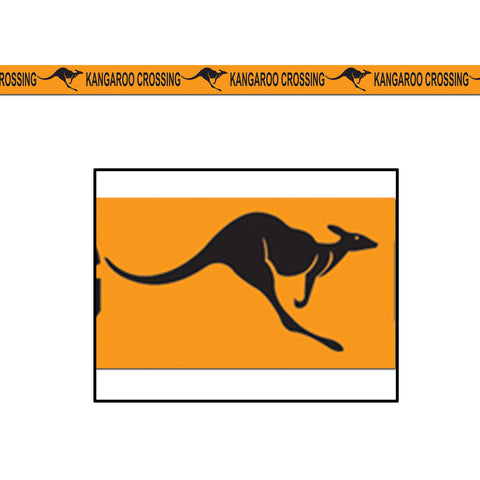 "Kangaroo Crossing Poly Dec Material, Size 3"" x 50'"