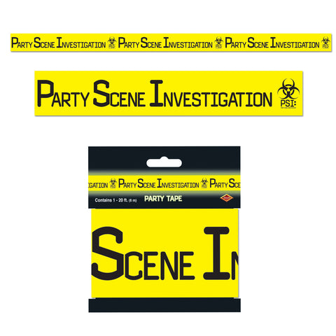 "PSI Party Tape, Size 3"" x 20'"