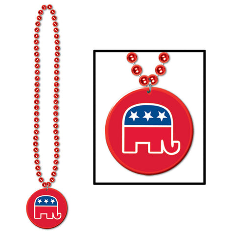 Collares w/Republican Medallion, Size 33""