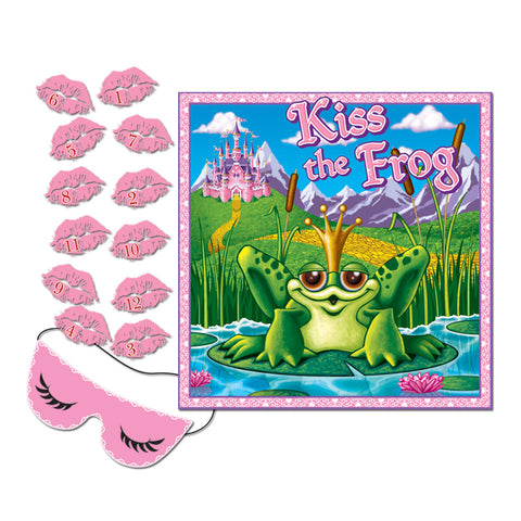 "Kiss The Frog Party Game, Size 18½"" x 18½"""