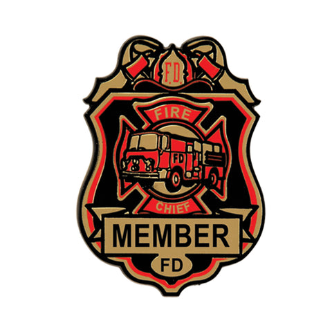 Fire Chief Badges, Size 2¾""