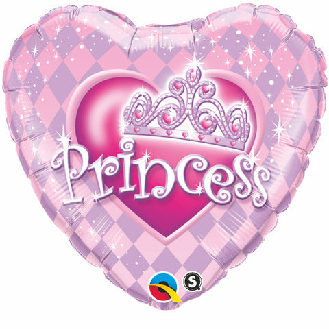 "18"" Corazon, Princess, Tiara, Princesa"