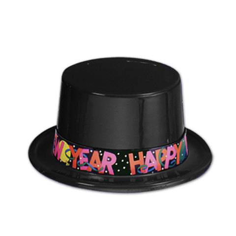 Black New Year Topper