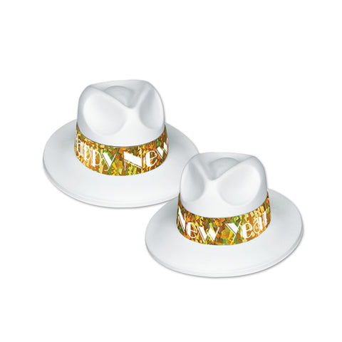 LA Swing Gold Fedora