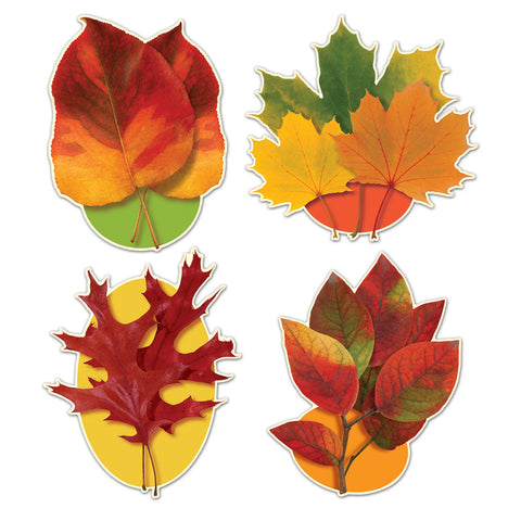 "Autumn Leaf Recortes, Size 15""-16¼"""