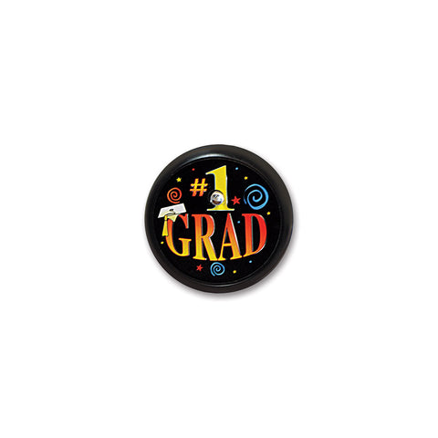 # 1 Grad Blinking Button, Size 2""