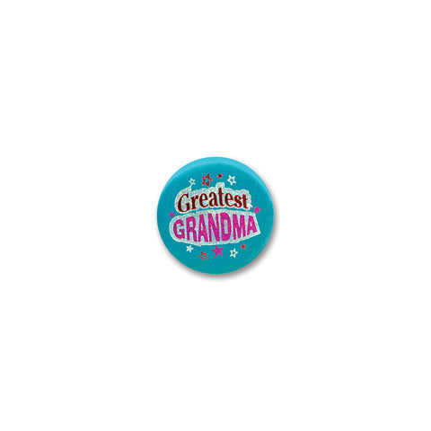 Greatest Grandma Satin Button, Size 2""