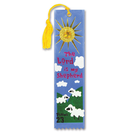 "The Lord Is My Shepherd Jeweled Bookmark, Size 2"" x 7¾"""