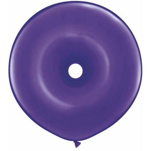 "16"" Geo Dona, Latex Solido, Purpura Cuartzo"