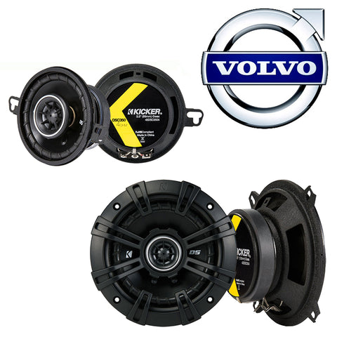 For Car Fits Volvo S40 2000-2004 Factory Speaker Replacement Kicker DSC5 DSC35 Package