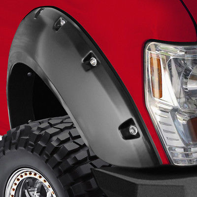 Car Accessories 2004-08 Ford F-150 Bolt On Pockets Off Road Style Set of 4 OE Fender Flare