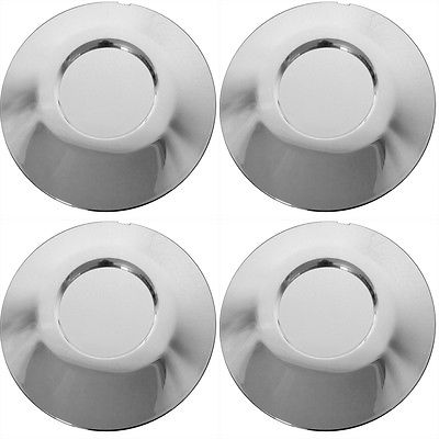 Car Accessories 4 Pc Set BMW 7 Series Center Caps Steel Wheels Alloy Rims Pop In Hub Cover