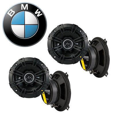For Car Fits BMW 850i 1990-1991 Factory Speaker Replacement Kicker (2) DSC5 Coax Package