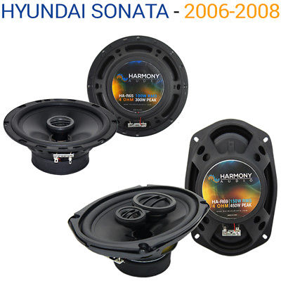 For Car Fits Hyundai Sonata 2006-2008 Factory Speaker Replacement Harmony R65 R69 Kit