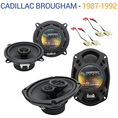 For Car Cadillac Brougham 1987-1992 OEM Speaker Upgrade Harmony R5 R69 Package