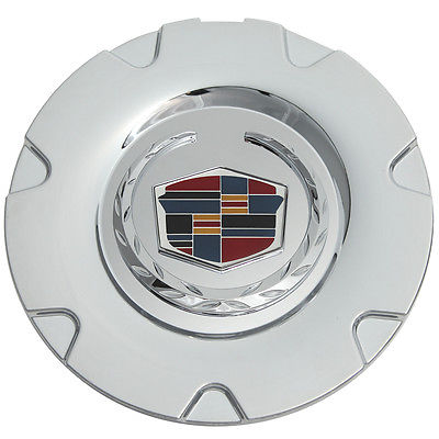 "Car Accessories 1 Piece Caddy XLR 18"" Chrome Rev Logo Center Caps Wheels Pop In Hub Cover"