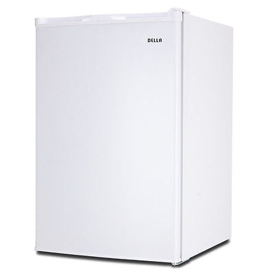 Compact Single Reversible Door Upright Freezer Home Office 3.0 Cubic Feet White