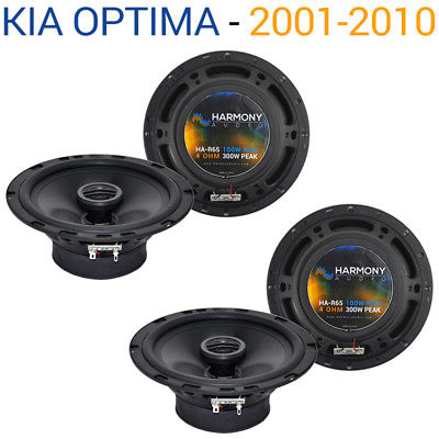 For Car Fits Kia Optima 2001-2010 Factory Speaker Replacement Harmony (2) R65 Package