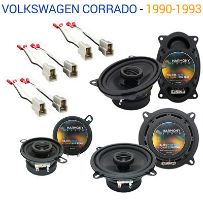 For Car Volkswagen Corrado 1990-1993 OEM Speaker Upgrade Harmony Speakers Package