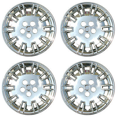 Car Accessories 4 PC Set Chrysler 300 Chrome Wheel Hubcaps Covers Rim Skin Caps For Steel Wheels