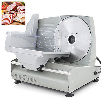"Electric Meat Slicer 7.5"" Blade Home Deli Meat Food Slicer Premium Home Kitchen"