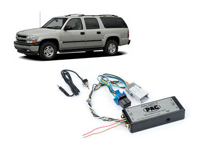 For Car Pac AAI-GM12 Chevy 2003-2006 Suburban Dual Aux Audio Input Kit For Factory Radio