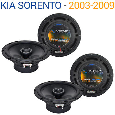 For Car Fits Kia Sorento 2003-2009 Factory Speaker Replacement Harmony (2) R65 Package