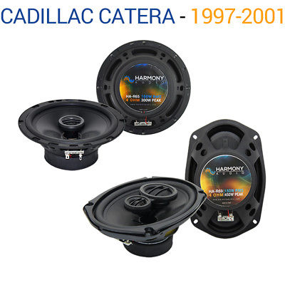 For Car Cadillac Catera 1997-2001 OEM Speaker Upgrade Harmony R65 R69 Package