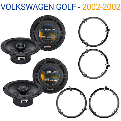 For Car Volkswagen Golf 2002-2002 Factory Speaker Upgrade Harmony (2) R65 Package