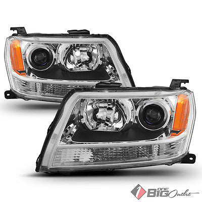 For 06-08 Grand Vitara Headlights Replacement Assembly LH+RH
