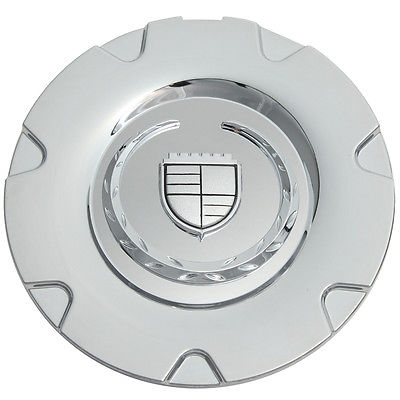 "Car Accessories 1 Piece Caddy XLR 18"" Chrome Logo Center Caps Wheels Pop In Hub Cover"