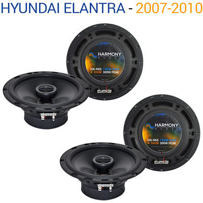 For Car Fits Hyundai Elantra 2007-2010 Factory Speaker Replacement Harmony (2) R65 Kit