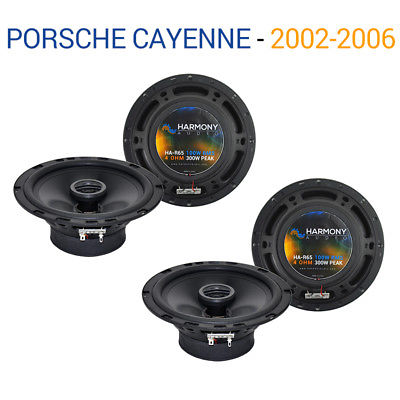 For Car Porsche Cayenne 2002-2006 Factory Speaker Upgrade Harmony (2) R65 Package