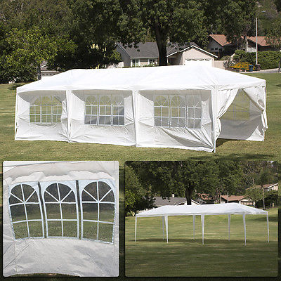 8 Walls 10' x 30' Canopy Party Outdoor Wedding Tent Gazebo Pavilion Cater Events