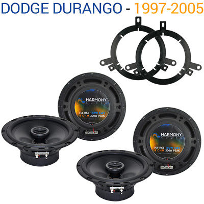 For Car Dodge Durango 2002-2003 Factory Speaker Replacement Harmony (2) R65 Package