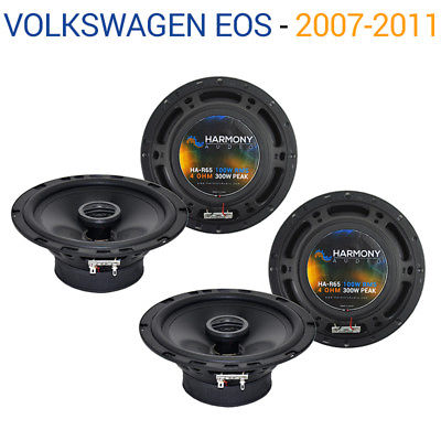 For Car Volkswagen Eos 2007-2011 Factory Speaker Upgrade Harmony (2) R65 Package