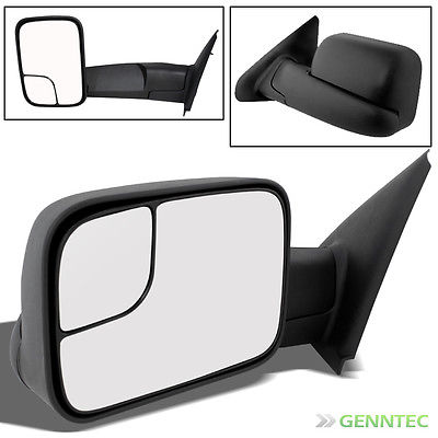 For 02-08 Ram 1500, 03-09 2/3500 Manual Extendable Tow Towing Mirror L LH