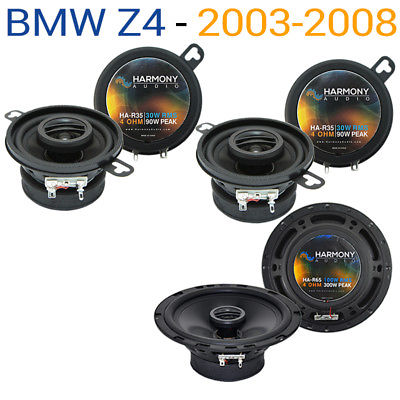 For Car BMW Z4 2003-2008 Factory Speaker Replacement Harmony R65 R35 Coax Package